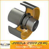 Giicl Gear Coupling with Brake Wheel High Transmission Efficiency Good Quality Professional Coupling Manufacturer Suoda Gdu Type