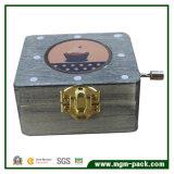 Exquisite Hand Crank Retro Wooden Music Box