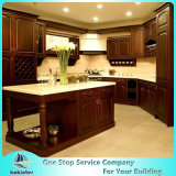 Luxury American Solid Wood Kitchen Cabinet Modern