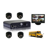 SD Card Mobile Car DVR with GPS, 3G, G-Shock, Alarm System for Taxi, Car Cab Vehcles Monitorng