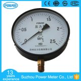 250mm Stainless Steel Case Bottom Type Pressure Gauge Manometer