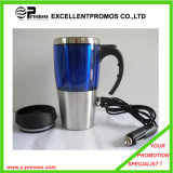 USB Electrical Double Wall Stainless Steel Travel Heated Mug (EP-M7151)