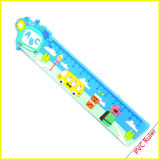 Fancy Plastic Soft PVC Cartoon Ruler Fridge Magnet