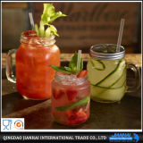 Food Grade Glass Craft Mason Cup for Cold Drink