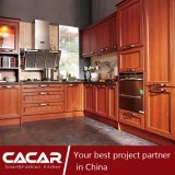 Home of Taste Classical Plastic Uptake PVC Kitchen Cabinet (CA09-18)
