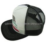 Flat Bill Snapback Twill Mesh Sport Trucker Hat (TMT00504-1)
