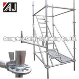 Steel Ringlock Scaffolding (DIP painted, electrogalvanized, hot-DIP galvanized or powder coated)