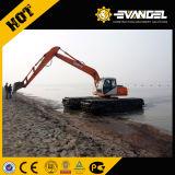 Heking 15 Tons Hydraulic Amphibious Excavator with Pontoon Digger (HK150SD)