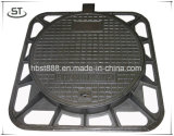 Heavy Duty Square Ductile Cast Iron Manhole Covers for Construction