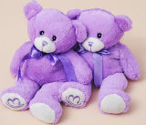 Hot Selling Lavender Bear Doll (KCQ36)