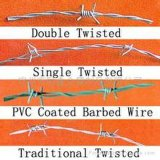 Barbed Wire Mesh (PVC coated)