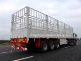 High Quality Enclosed Fence Stake Cargo Semi Trailers for Tractors