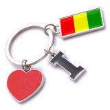 New Custom Metal Souvenir Guinea Keyring