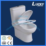 P-Trap 180mm Roughing-in Washdown Two-Piece Toilet for Sales Promotion