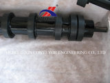 Heavy Duty Conveyor Impact Roller with Rubber Disc