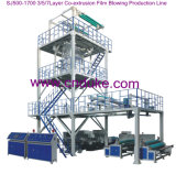 Multi-Layer Co-Extrusion Film Blowing Machine (SJ60-GS1500)