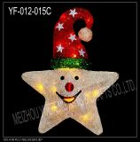 Christmas Decoration Christmas Star (YF-012-15C)