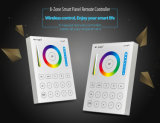 Multi-Function 8-Zone RGB+CCT Smart Panel Remote Controller (B8)
