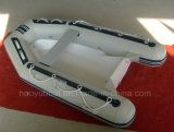 8.37feet 2.55m Fiberglass Hull Boat with CE Rib Boat with Outboard Motor Fishing Boat
