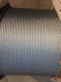 Nantong Galvanized Steel Wire Rope 6X37+FC/Iwrc Customized Packing