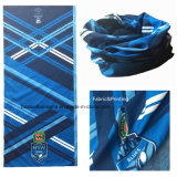 Custom Made Customized Logo Printed Blue Polyester Promotion Multipurpose Buff Headband