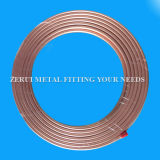 25m Long Seamless Flexible Copper Pipe for Medical Gas