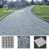 Split Finished G603 Grey Granite Cobble Paving Stone / Cube Stone for Pathway and Driveway