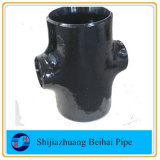 Carbon Steel Reducing Cross Sch 80 B16.9 Steel Fitting