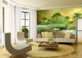 Digital Printing Ceiling/ Interior Decorative /3D Wall Murals/ Joint and Seamless /Wallpaper Material