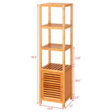 Take Small Cabinet Bamboo to Receive Rack