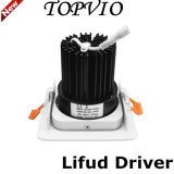 Philips/Lifud 10W/15W/20W CREE COB LED Downlight White Silver