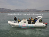 Liya 8.3m 20 Persons Rigid Inflatable Yacht Luxury Cabin Rib Boat