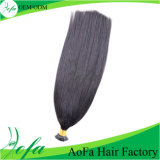 100% New Fashion Natural Remy Human I-Tip Hair Extension