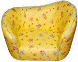 Curved Back Flower Pattern Children Sofa and Armchair (SXBB-36-01)