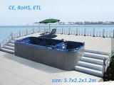 Outdoor SPA Swim SPA Tub with CE