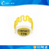 Em4100/4102/4200 RFID Bracelet Tag with Water Parks, Theme Parks