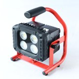 IP65 Waterproof Rechargeable Aluminum 40W High Lumen LED Flood Light