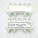 CATV Coupler Splitter 8 Way Coaxial Cable F Connector Port 5-1000MHz