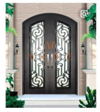 2017 Luxurious Design Wrought Iron Door