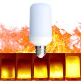 Hot Sell LED Fire Effect Bulb Light Tri-Mode 5W AC85 - 265V E26 E27 Flame Lamp