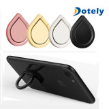 360 Degree Rotation Fold Phone Stand Holder Water Drop Shape Finger Ring