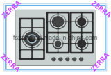 High Quality Stainless Steel Panel Home Appliance Built-in Gas Hob (JZS65006)