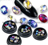 Nail Charms 3D Rhinestones Nail Decoration Crystal Water Droplets Oval Acrylic Satellite Stones DIY Jewelry Nails Accessoires (ND-14)