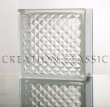Clear Lattice Glass Block for Shower Room/Building Glass