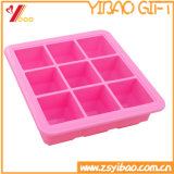 LFGB 9 Cell Silicone Ice Cube Tray /Ice Mould, Silicone Cake Mould