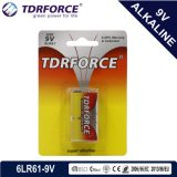 Mercury&Cadmium Free China Factory Ultra Alkaline Battery (9V/9 VOLT/6LR61)