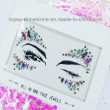 Wholesale Stick on Face Jewels Body Sticker Tattoos Temporary Eye Tattoo Stickers (S084)