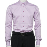 Men's Strips Mecerized Cotton Business Shirts
