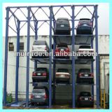 Four Post Stacker Parking Hydraulic Car Park Management