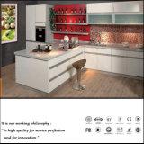 White UV Plain Colour High Glossy Kitchen Cabinet (ZH0987)